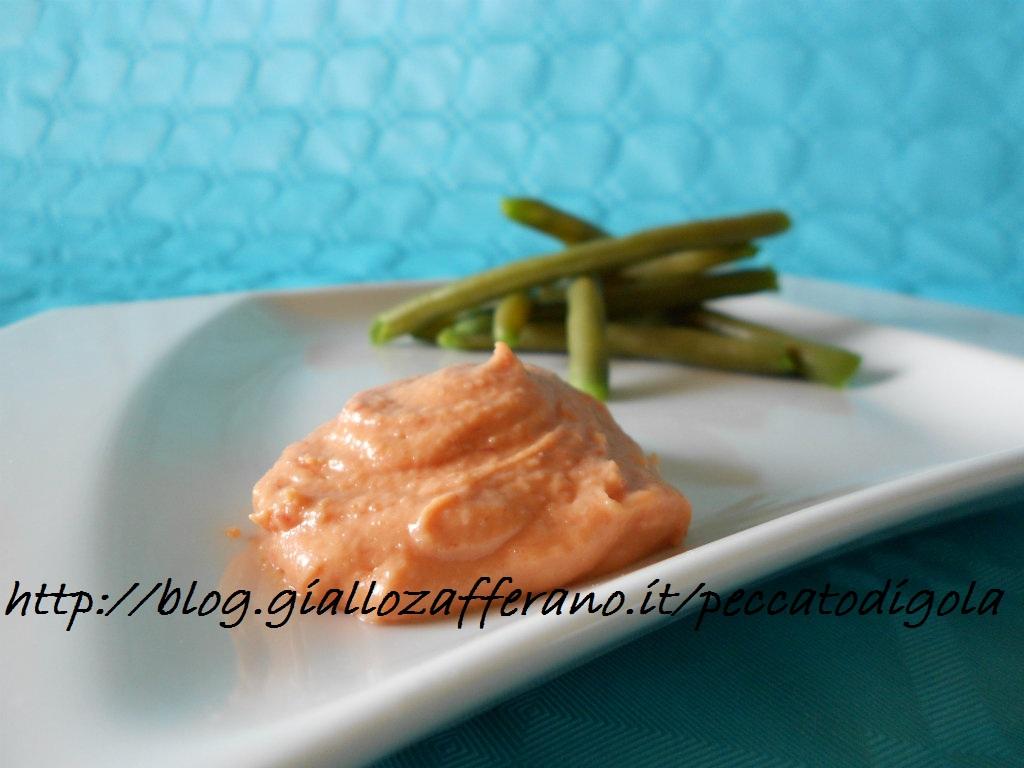 3) la salsa rosata per carni e verdure pronta