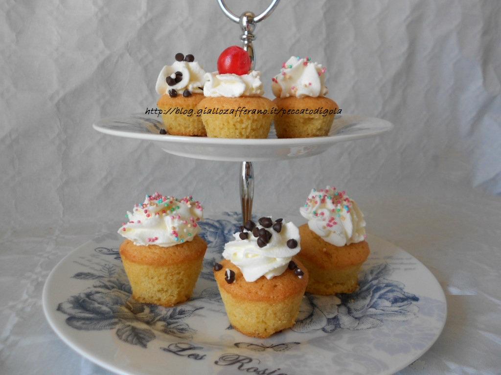 4) i cupcakes pronti