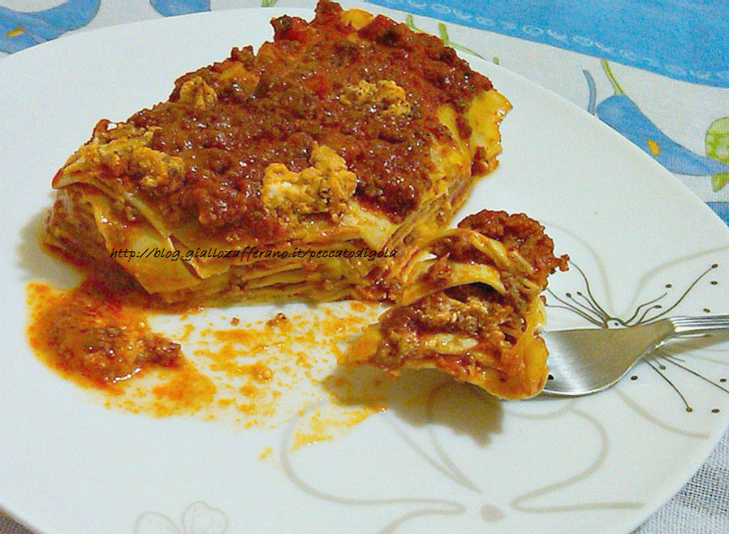 7) le lasagne pronte