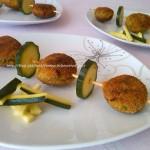 3) le polpette di zucchine e tonno pronte
