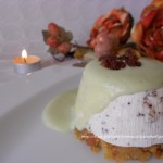 8) il cheesecake al torrone e panettone pronto