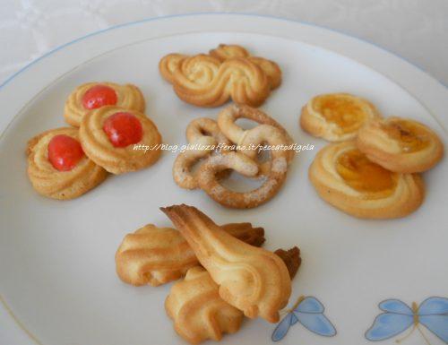 Biscotti al burro – danish butter cookies