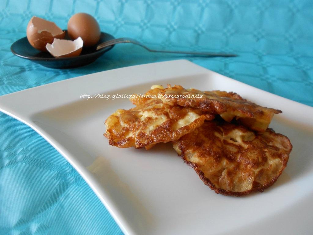5) le frittatine di patate pronte