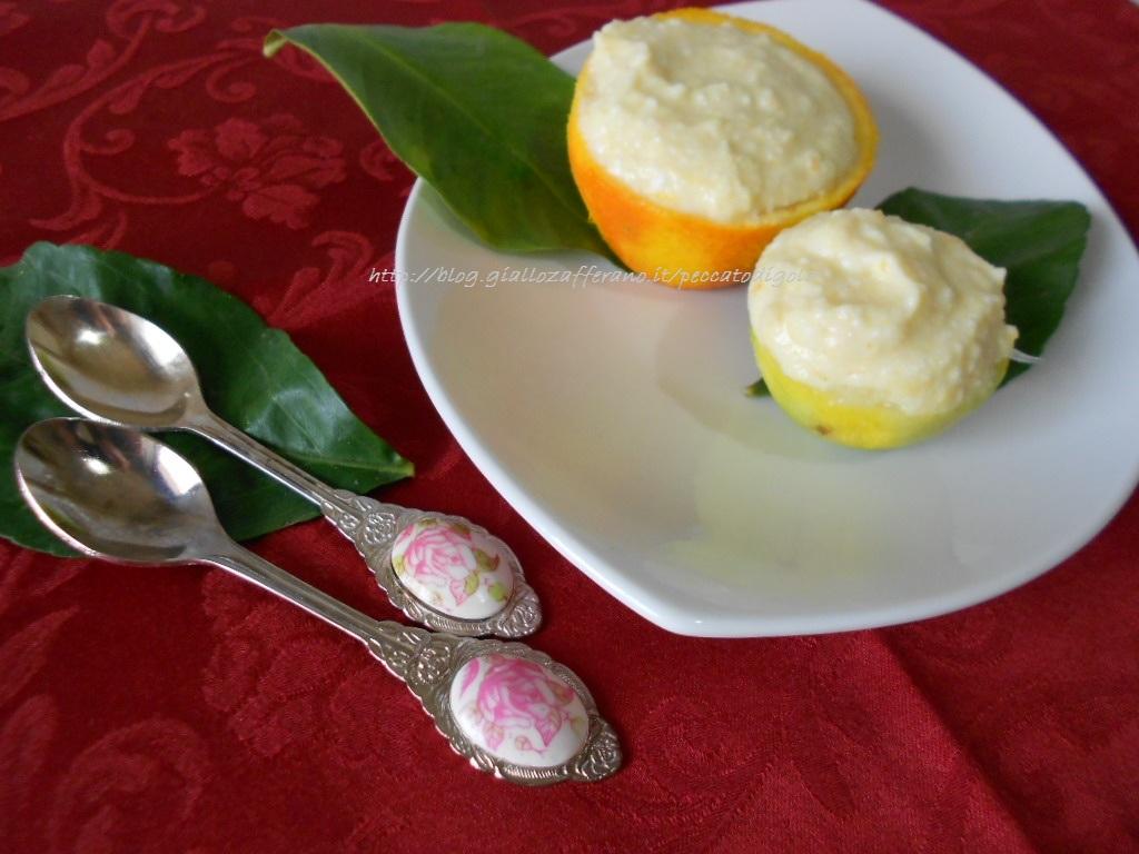 3) il dessert di ricotta e agrumi pronto