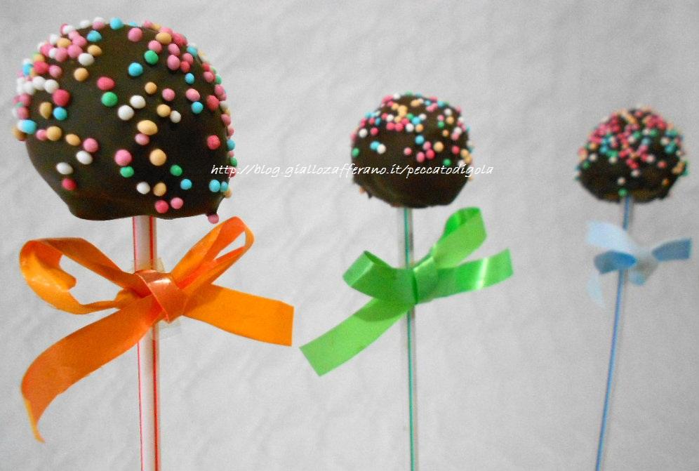 5) i cake pops di panettone pronti