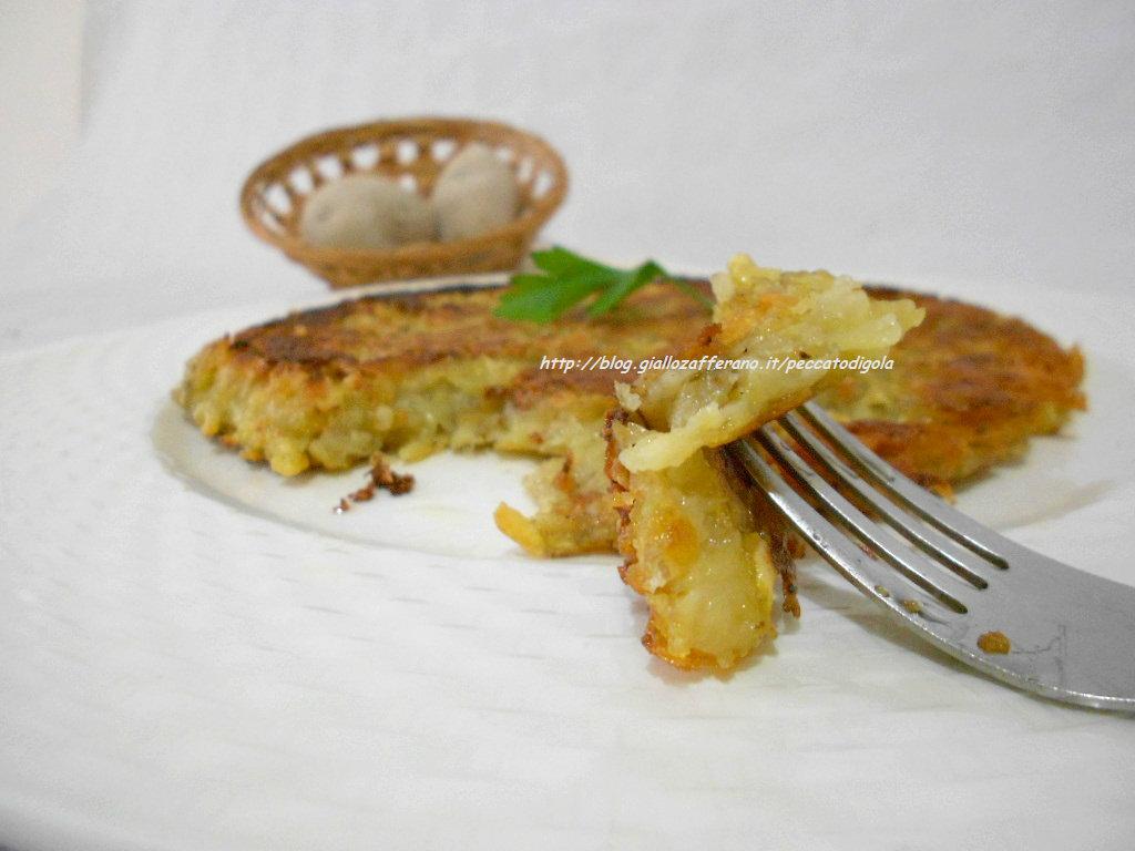 4) il rosti di patate pronto