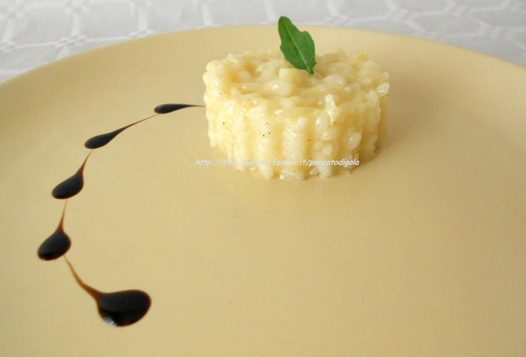 3) il risotto allo spumante pronto
