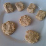 5) e fate le crocchette e pepite di pollo