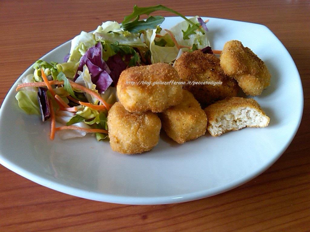 6) le crocchette e pepite di pollo pronte
