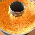 4) create un involucro con il riso