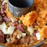 6) farcite e ricoprite con il riso