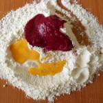2) mescolate gli ingredienti