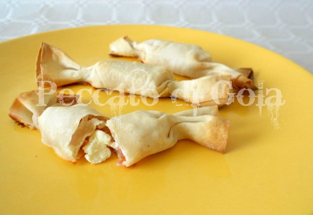 4) le caramelle di pasta fillo pronte