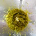 2) tritate i pistacchi