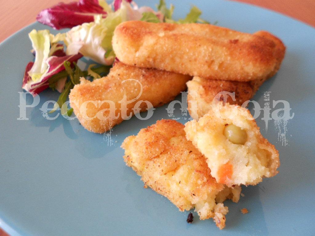 5) i bastoncini di verdure pronti