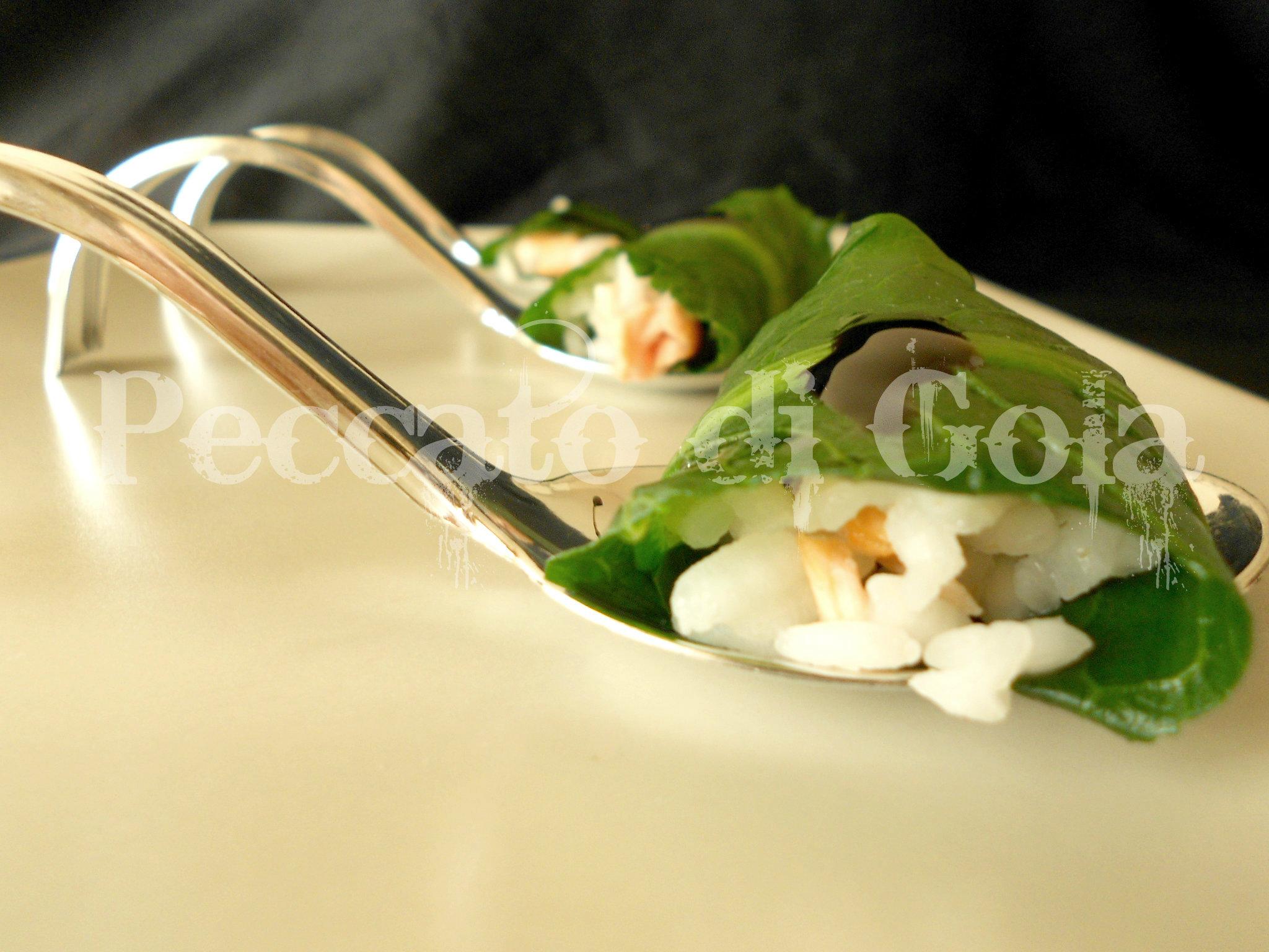 6) il finto sushi con catalogna pronto
