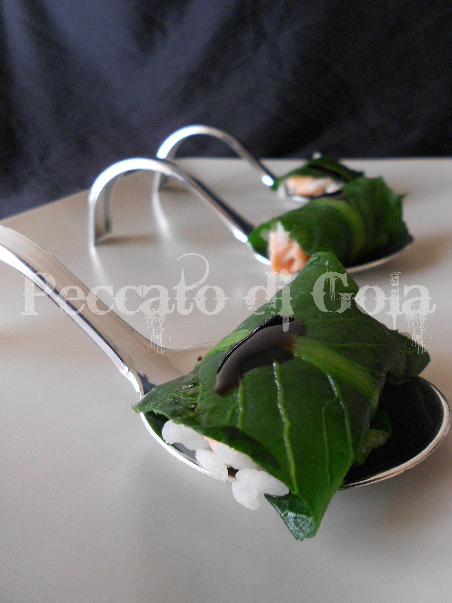 7) il finto sushi con catalogna pronto6) il finto sushi con catalogna pronto