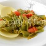 3) i baccelli di fave con pomodori pronti