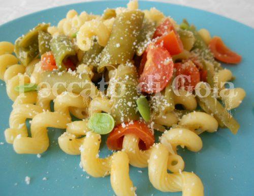 Pasta con baccelli di fave