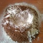 6) setacciate farina e cacao