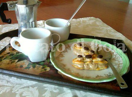 Éclair: pasticcini al caffè