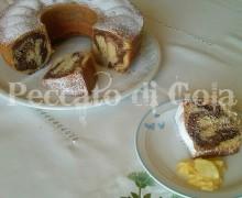 Ciambellone al cacao e limoncello