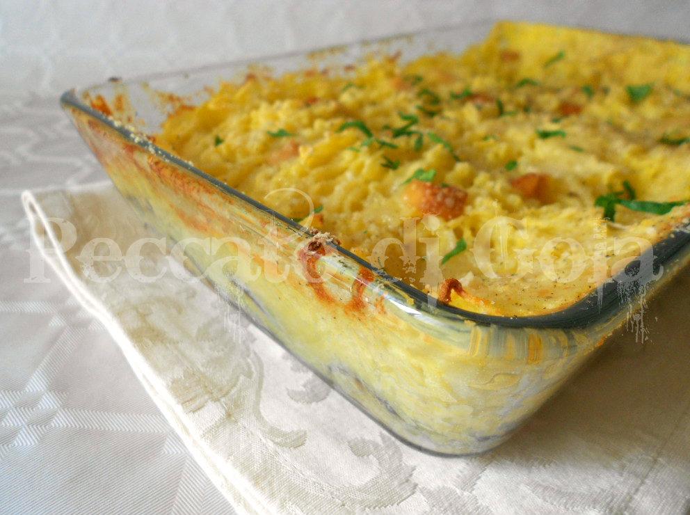 parmigiana di melanzane e patate