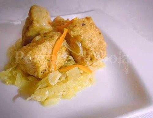 Filetti di merluzzo profumati all'arancia