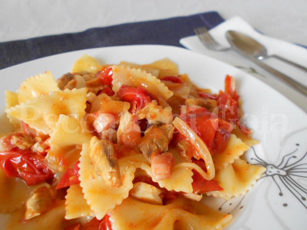 Ricette pasta con sgombro sott'olio
