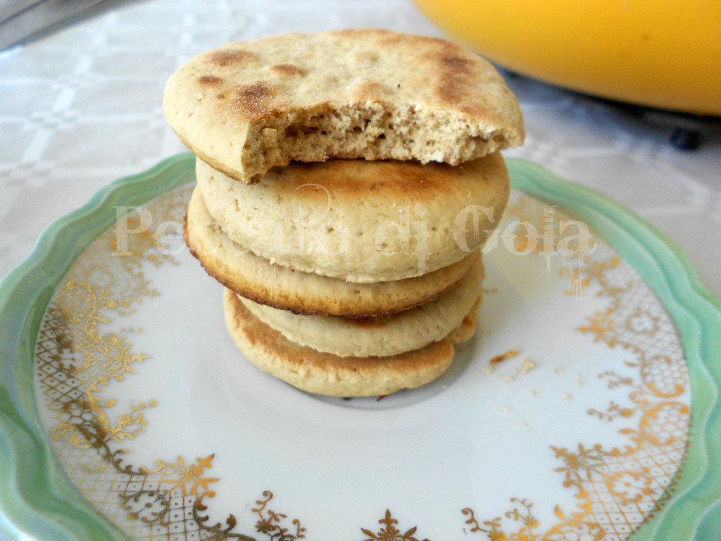 biscotti al caffè cotti in padella, peccato di gola