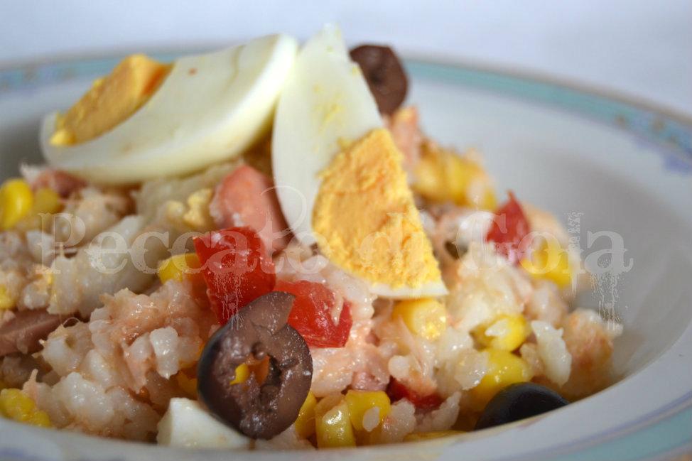insalata di riso, peccato di gola