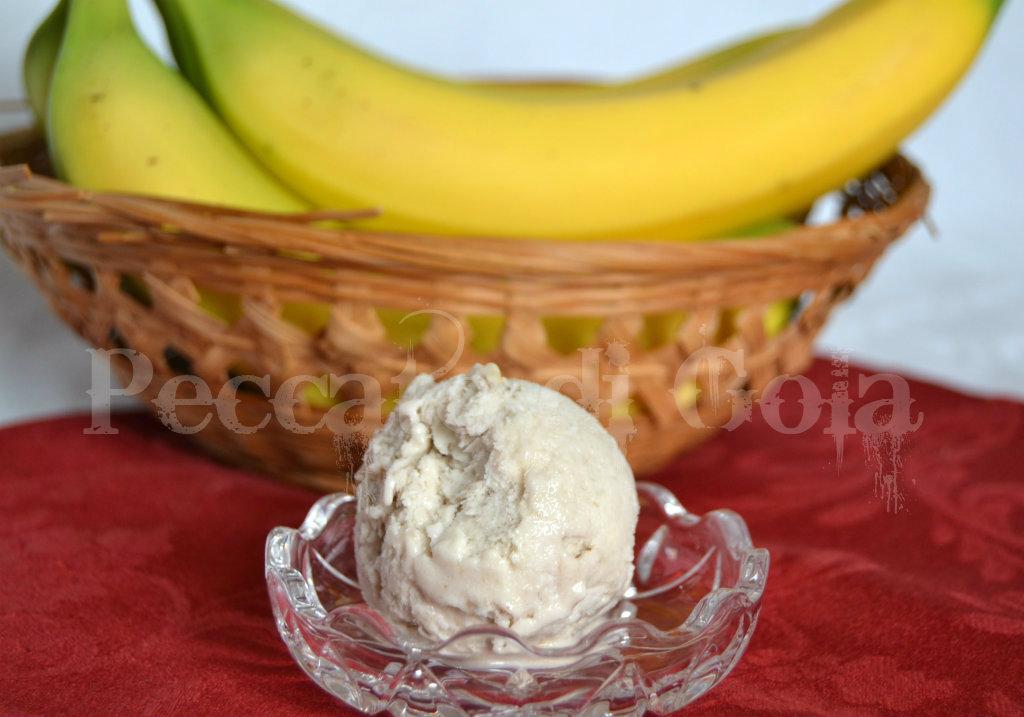 Gelato alla banana, peccato di gola