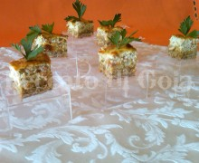 Cheesecake salato al pesto