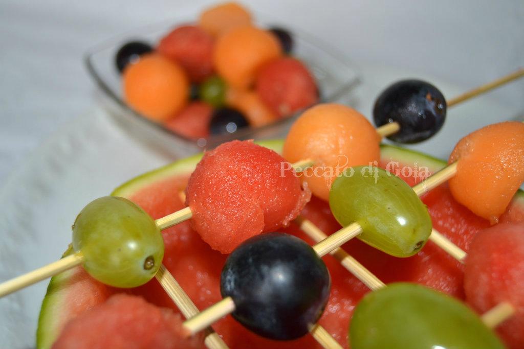 spiedini di frutta, peccato di gola