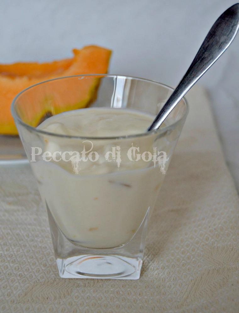 yogurt al melone cantalupo, peccato di gola