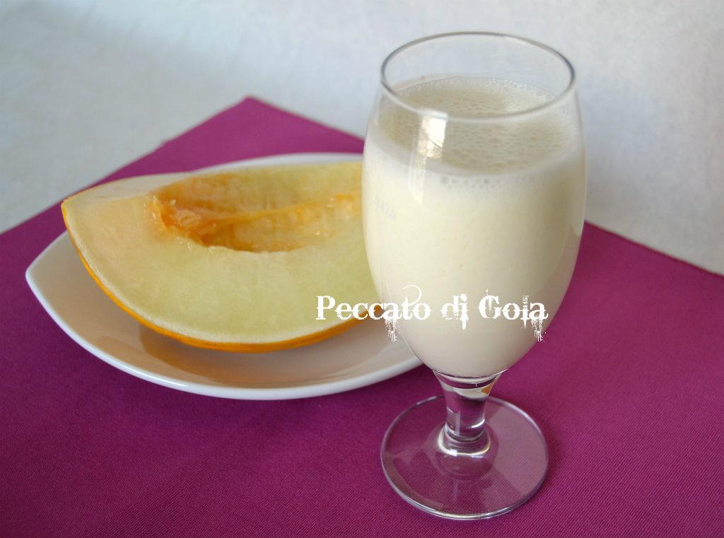 smoothie al melone bianco, peccato di gola