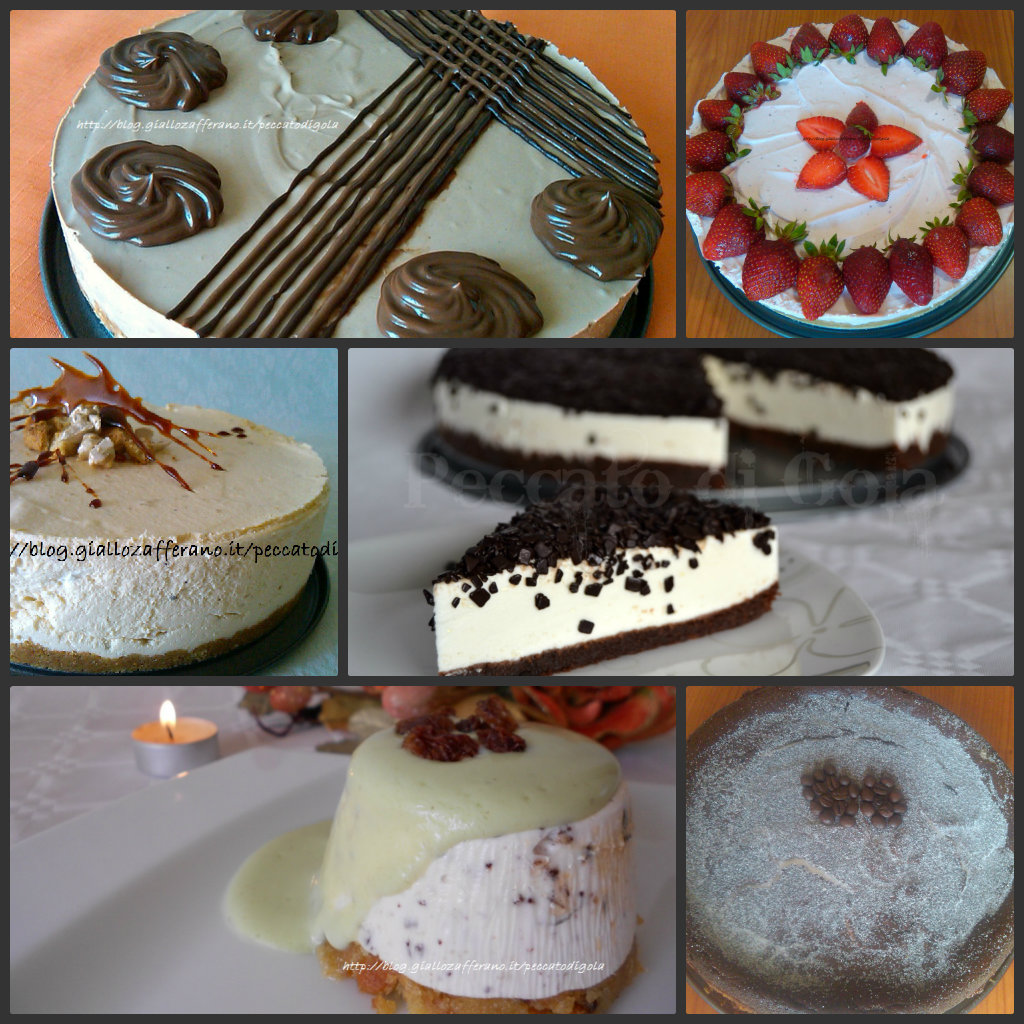 torta fredda allo yogurt e cheesecake, peccato di gola