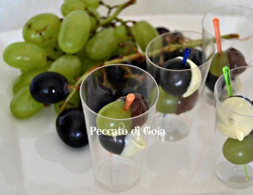 Uva e cioccolato