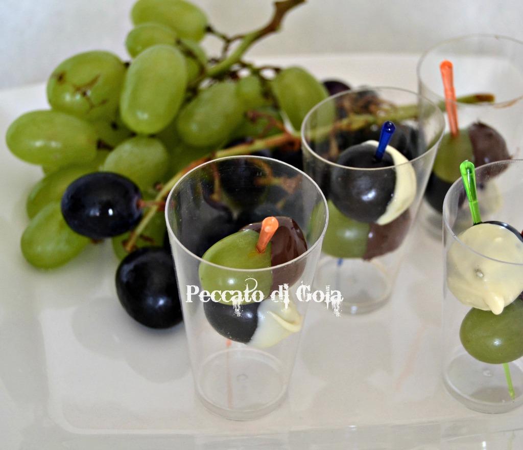 uva e cioccolato, peccato di gola