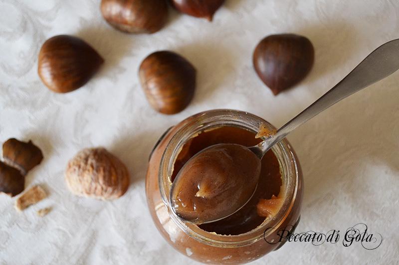 la ricetta della marmellata di castagne o marroni, peccato di gola 1