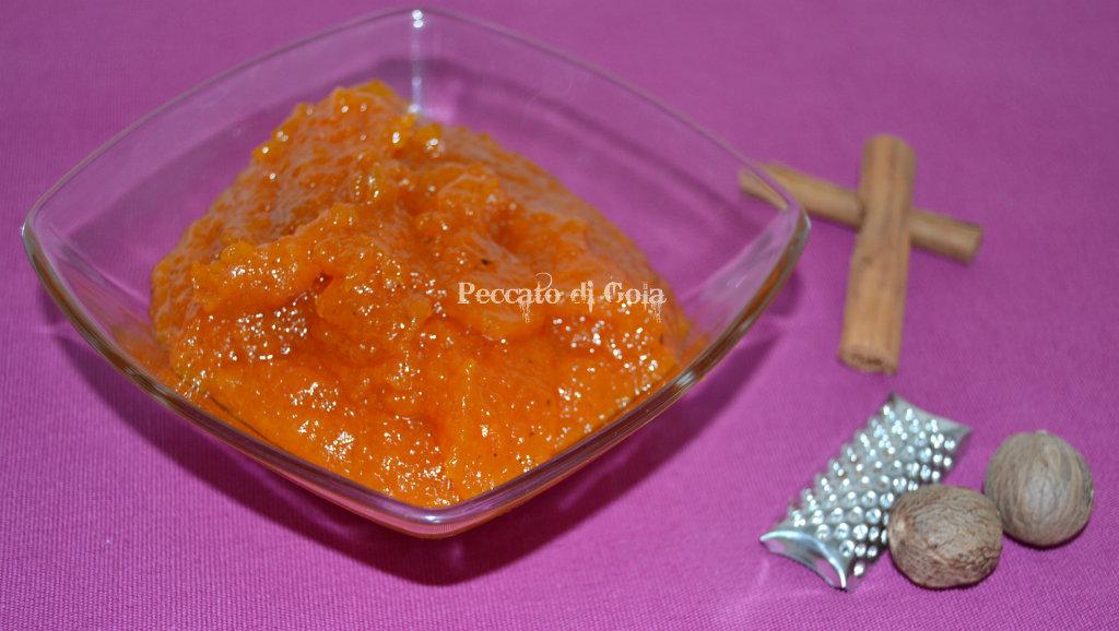 marmellata di zucca, peccato di gola