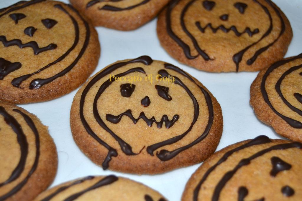 ricetta biscotti a forma di zucca, peccato di gola