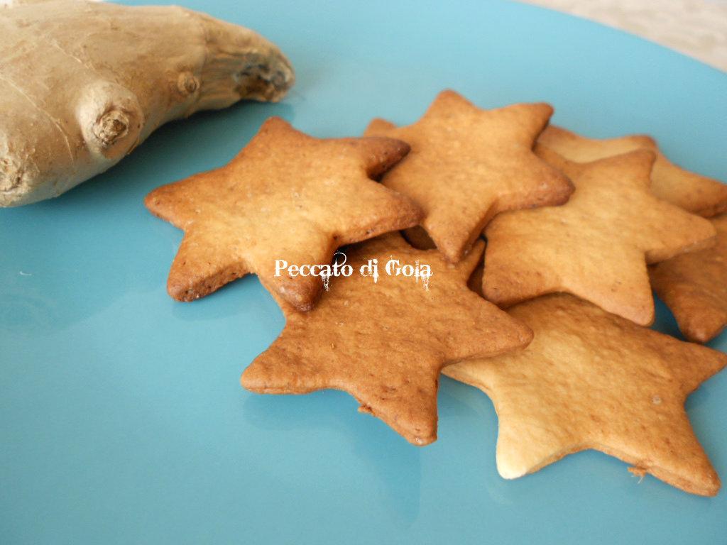 ricetta biscotti allo zenzero, peccato di gola