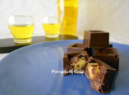 Cioccolatini al panettone ricetta riciclo