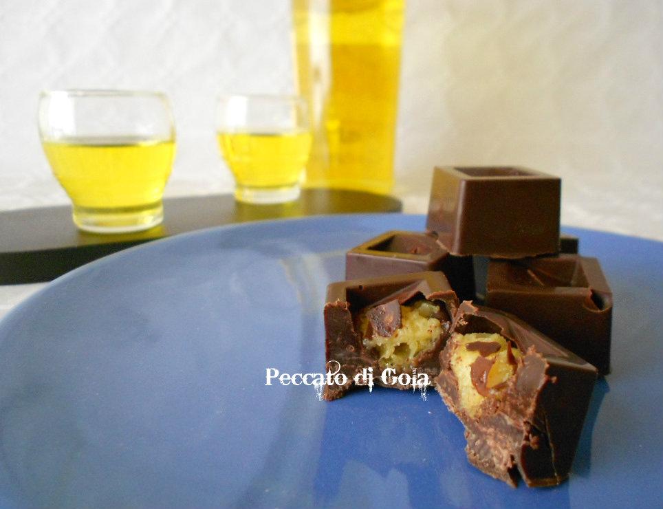 ricetta cioccolatini al panettone, peccato di gola