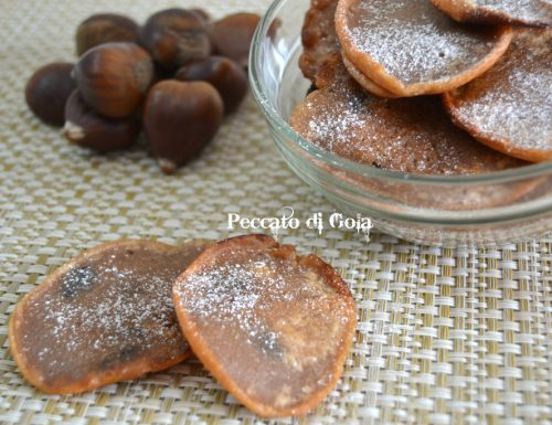 Frittelle di castagne, ricetta dolce