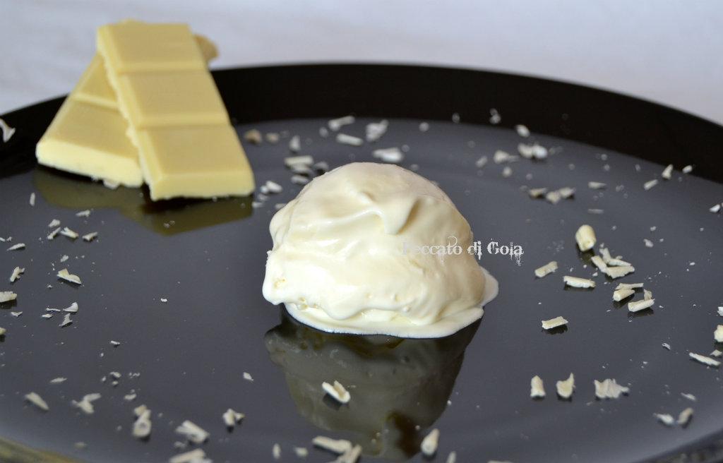 ricetta gelato al cioccolato bianco, peccato di gola