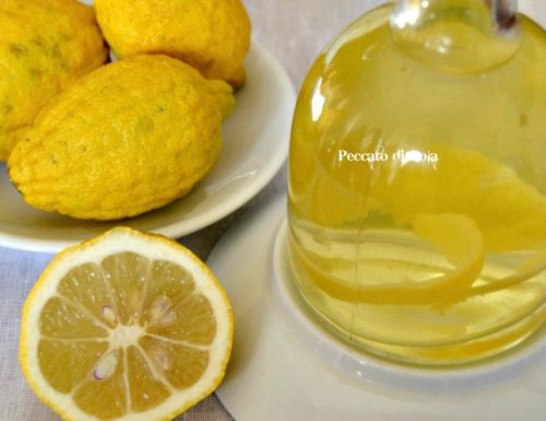 Aceto al limone, come aromatizzarlo