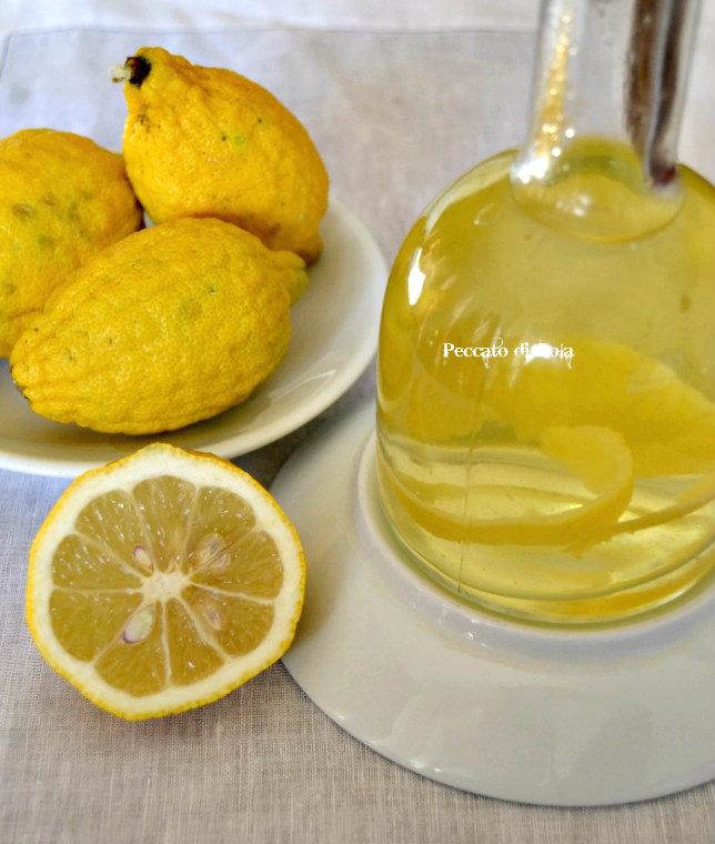 ricetta aceto al limone, peccato di gola