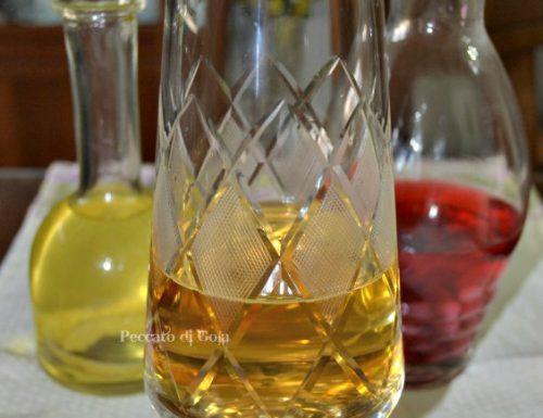Aceto di vino bianco, ricetta di base